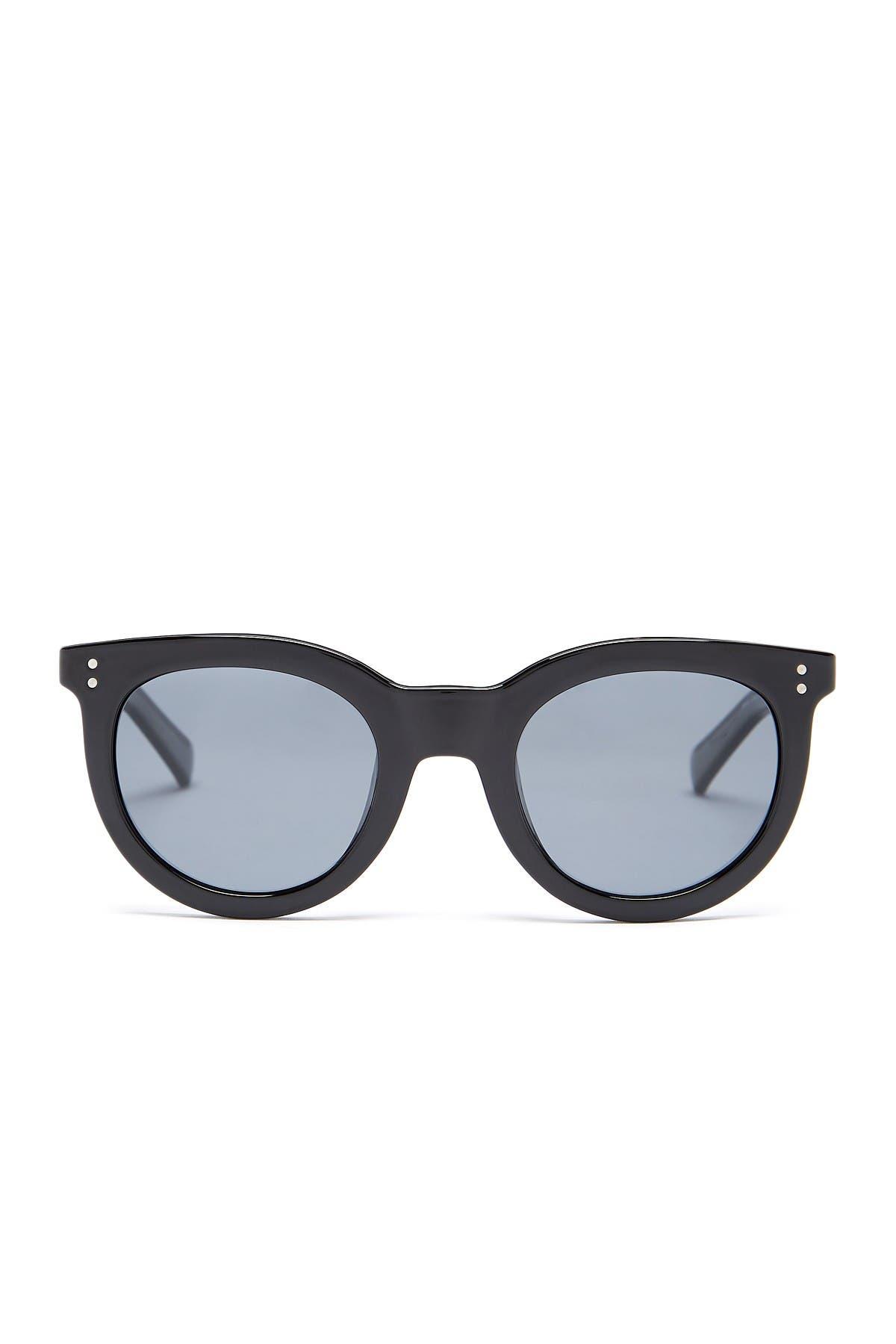 Image of Cole Haan Schoolboy Polarized 50mm Retro Sunglasses