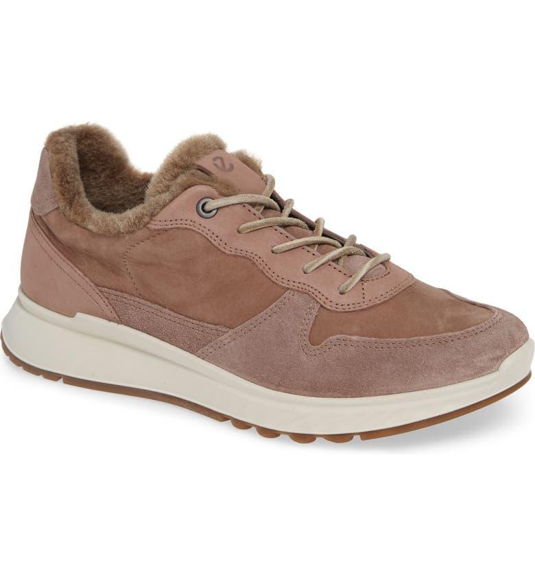 ECCO ST1 Genuine Shearling Sneaker, Main, color, 020