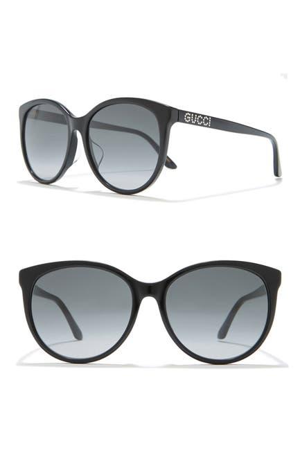 Image of GUCCI 56mm Cat Eye Sunglasses