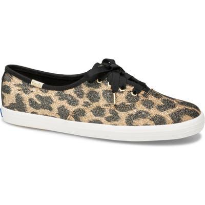 Keds X Kate Spade New York Glitter Sneaker, Brown