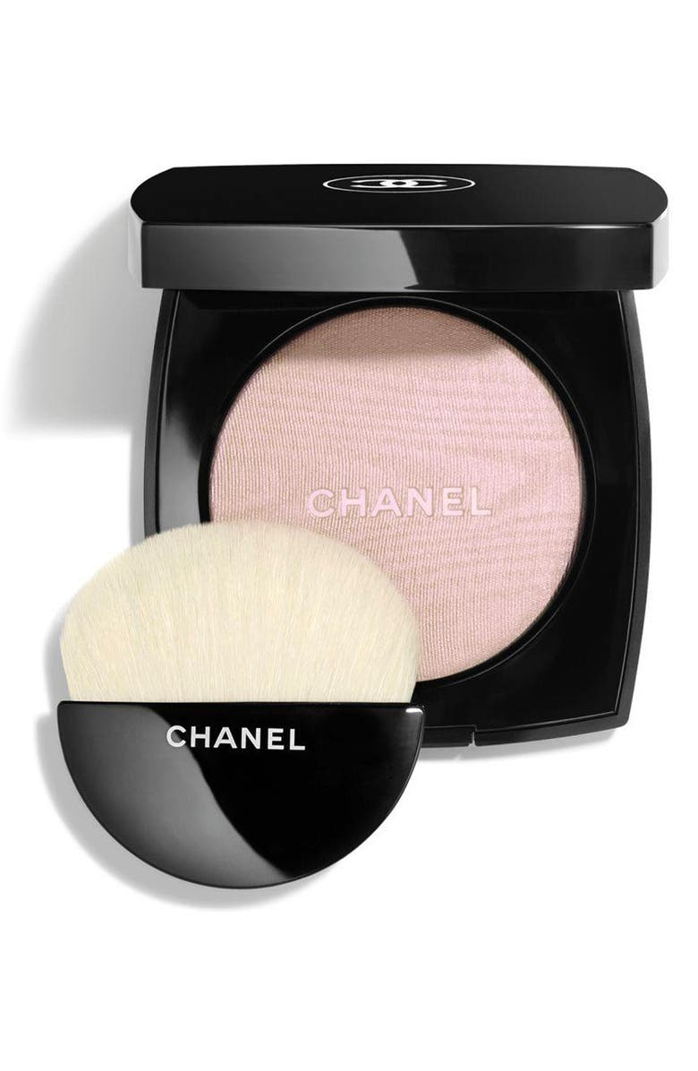CHANEL HIGHLIGHTING <br />Powder Compact, Main, color, 40 WHITE OPAL