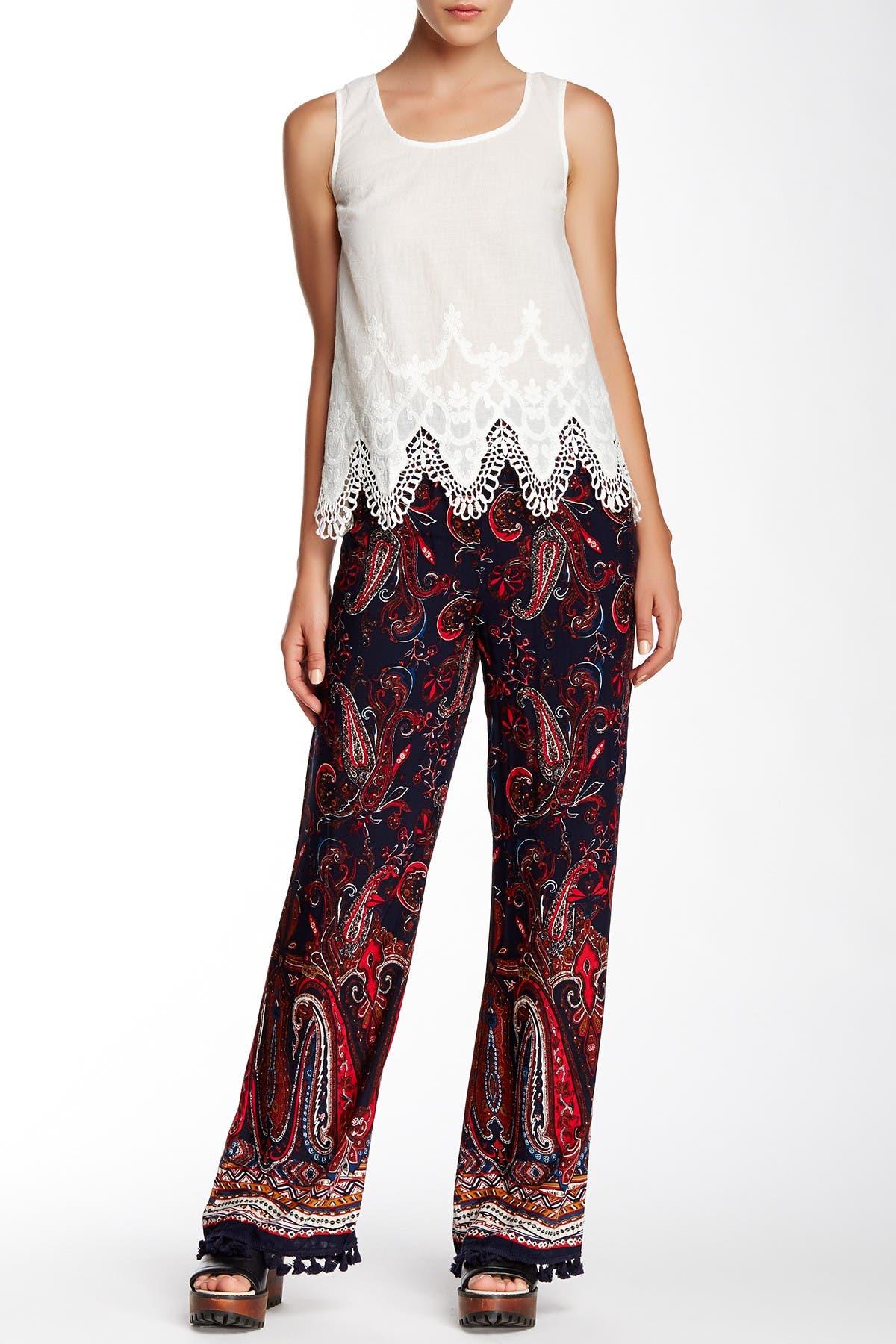 Image of Blu Pepper Printed Pants
