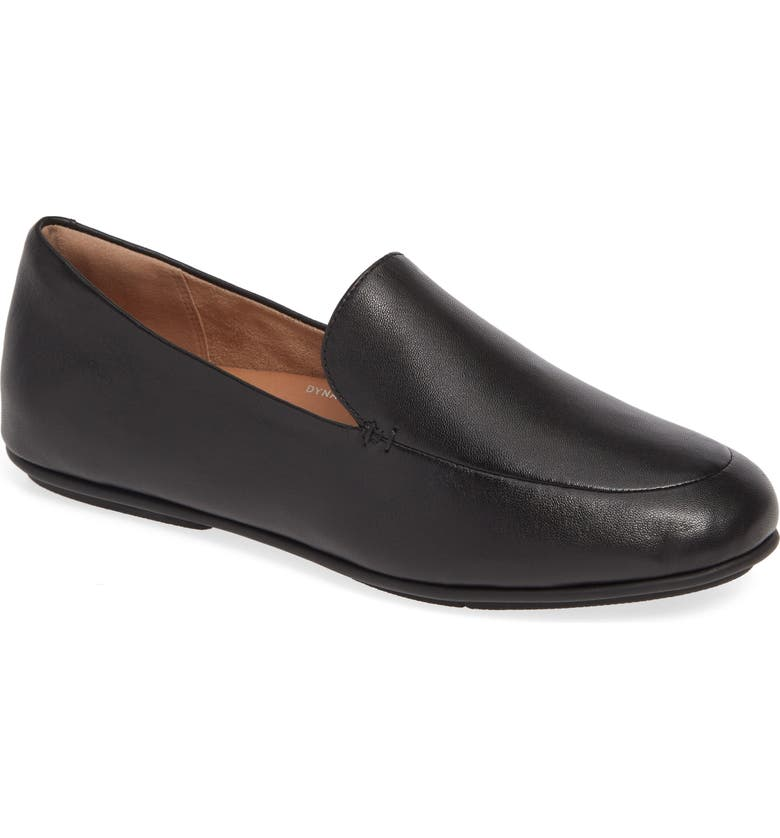 FITFLOP Lena Loafer, Main, color, ALL BLACK LEATHER