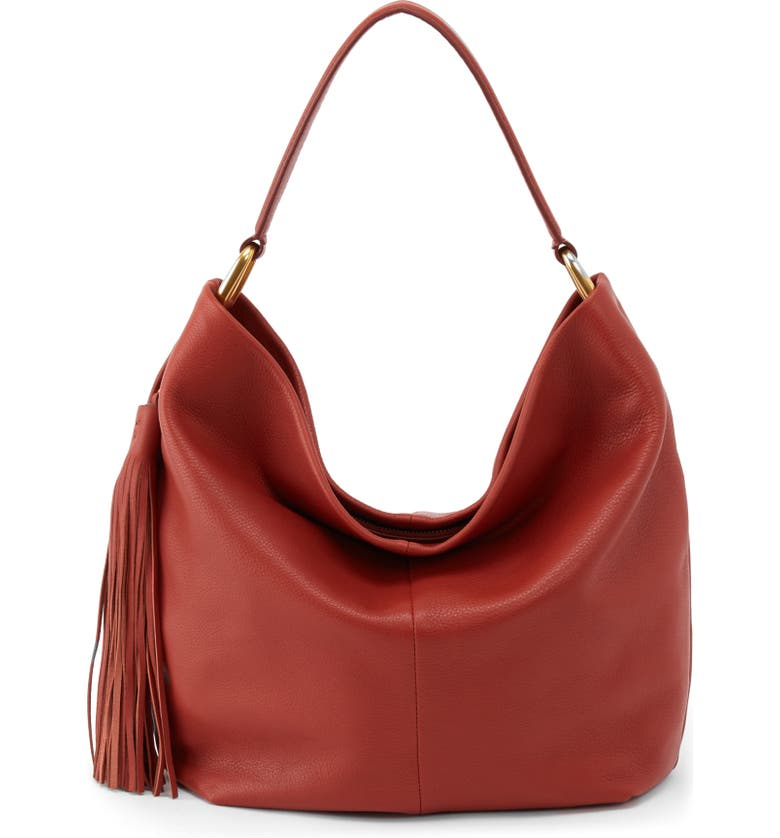 HOBO Meridian Leather Hobo, Main, color, 600