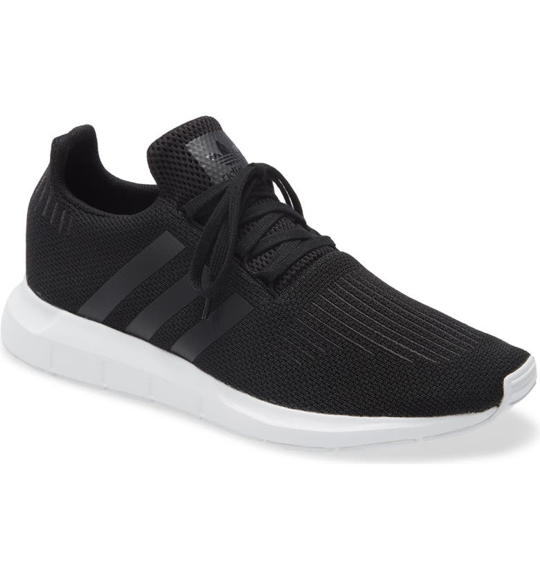 ADIDAS Swift Run Sneaker, Main, color, BLACK/ WHITE/ WHITE