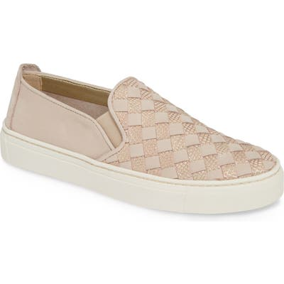 The Flexx What A Sneak Slip-On Sneaker- Pink