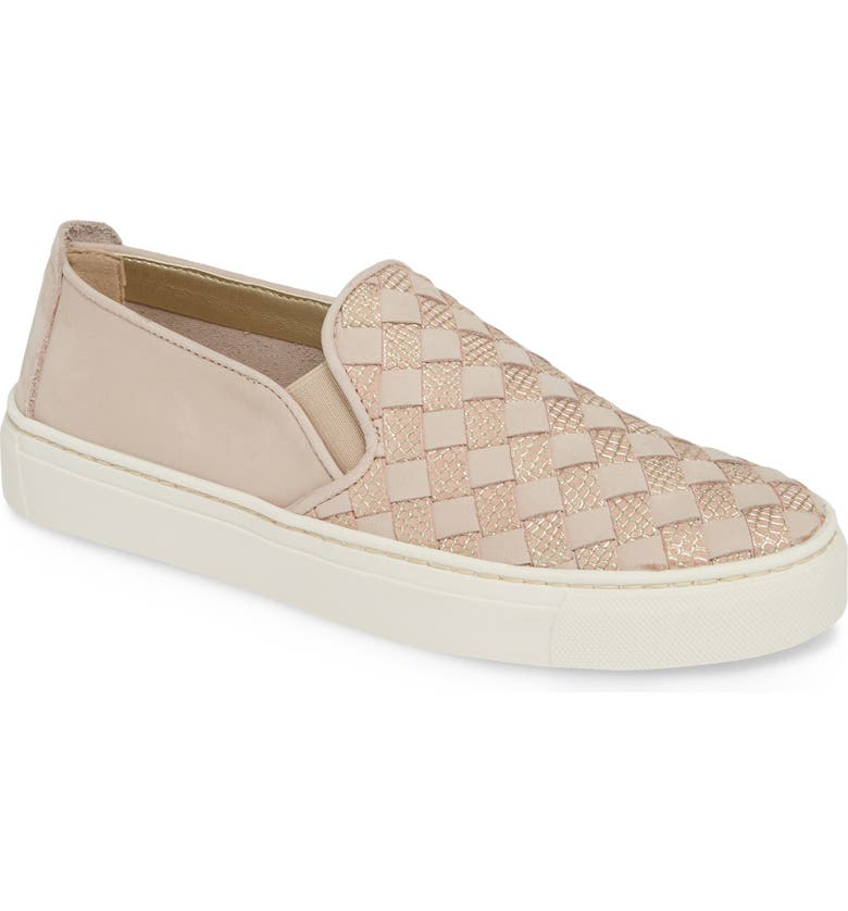THE FLEXX What a Sneak Slip-On Sneaker, Main, color, ROSE NUBUCK LEATHER