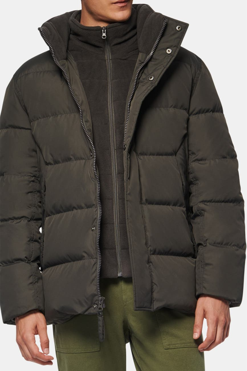 Andrew Marc Carlton Packable Hood Quilted Puffer Men's Jacket