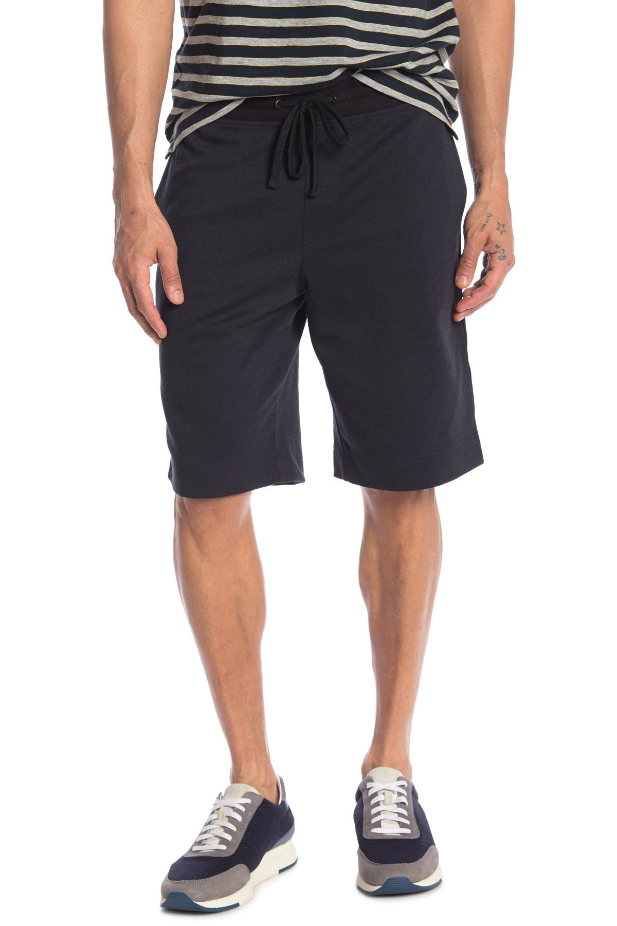 Image of Vince Double Knit Pull-On Shorts