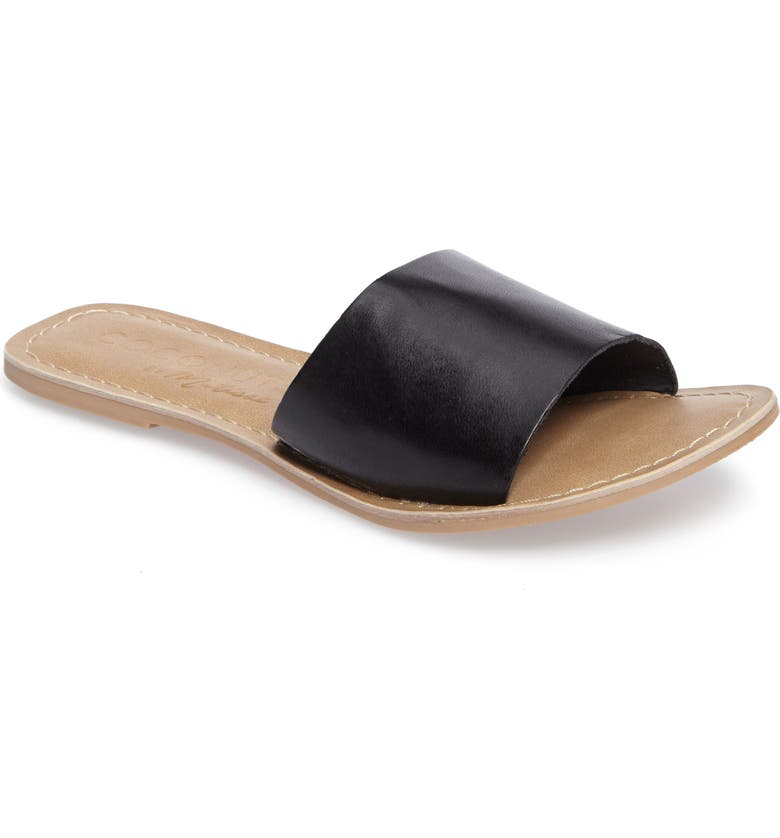 COCONUTS BY MATISSE Cabana Slide Sandal, Main, color, 001