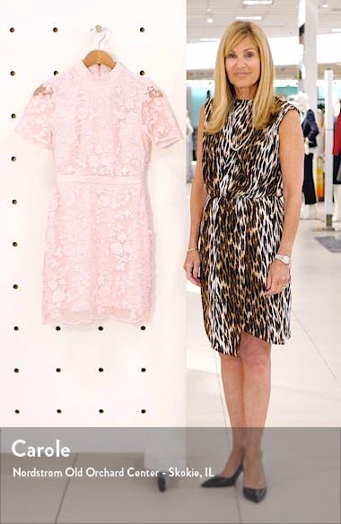 Elegant Lace Appliqué Dress, sales video thumbnail
