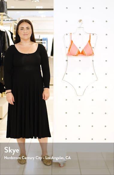 Tanlines High Point Stripe Triangle Bikini Top, sales video thumbnail