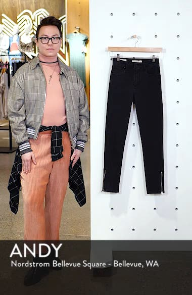 721<sup>™</sup> Altered High Waist Ankle Skinny Jeans, sales video thumbnail