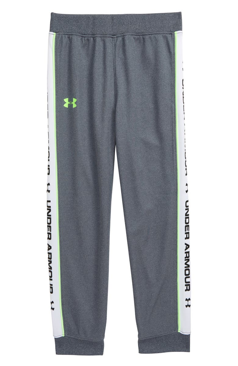 UNDER ARMOUR Jogger Pants, Main, color, WIRE HEATHER