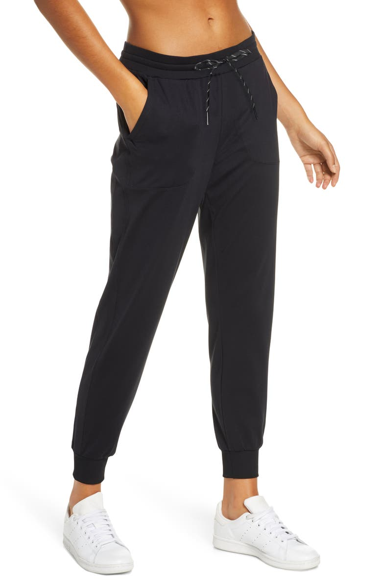 ZELLA Live In Jogger Pants, Main, color, BLACK