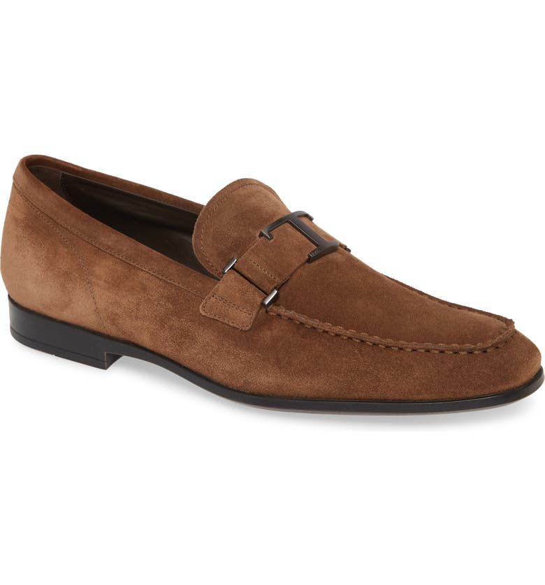TOD'S Mocassino Bit Loafer, Main, color, LIGHT BROWN