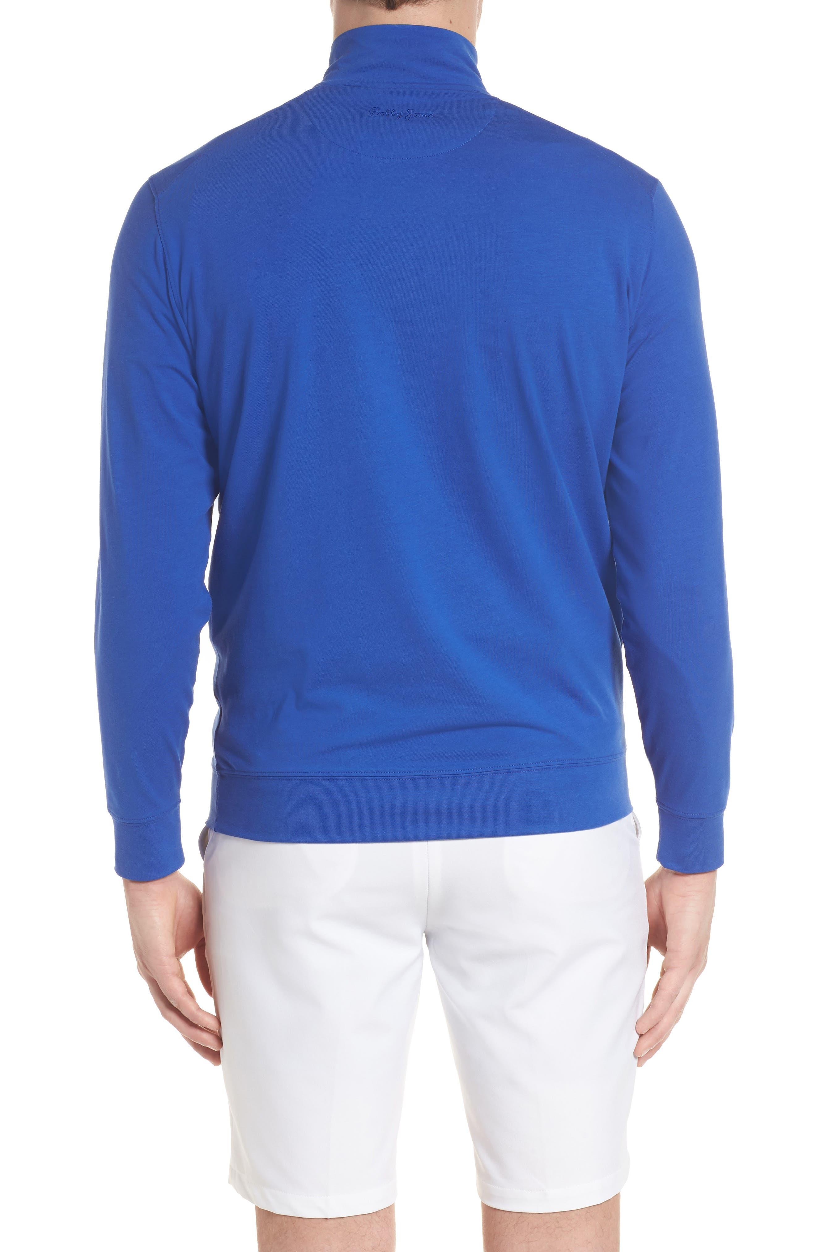 ,                             PTO Liquid Stretch Quarter Zip Pullover,                             Alternate thumbnail 8, color,                             401