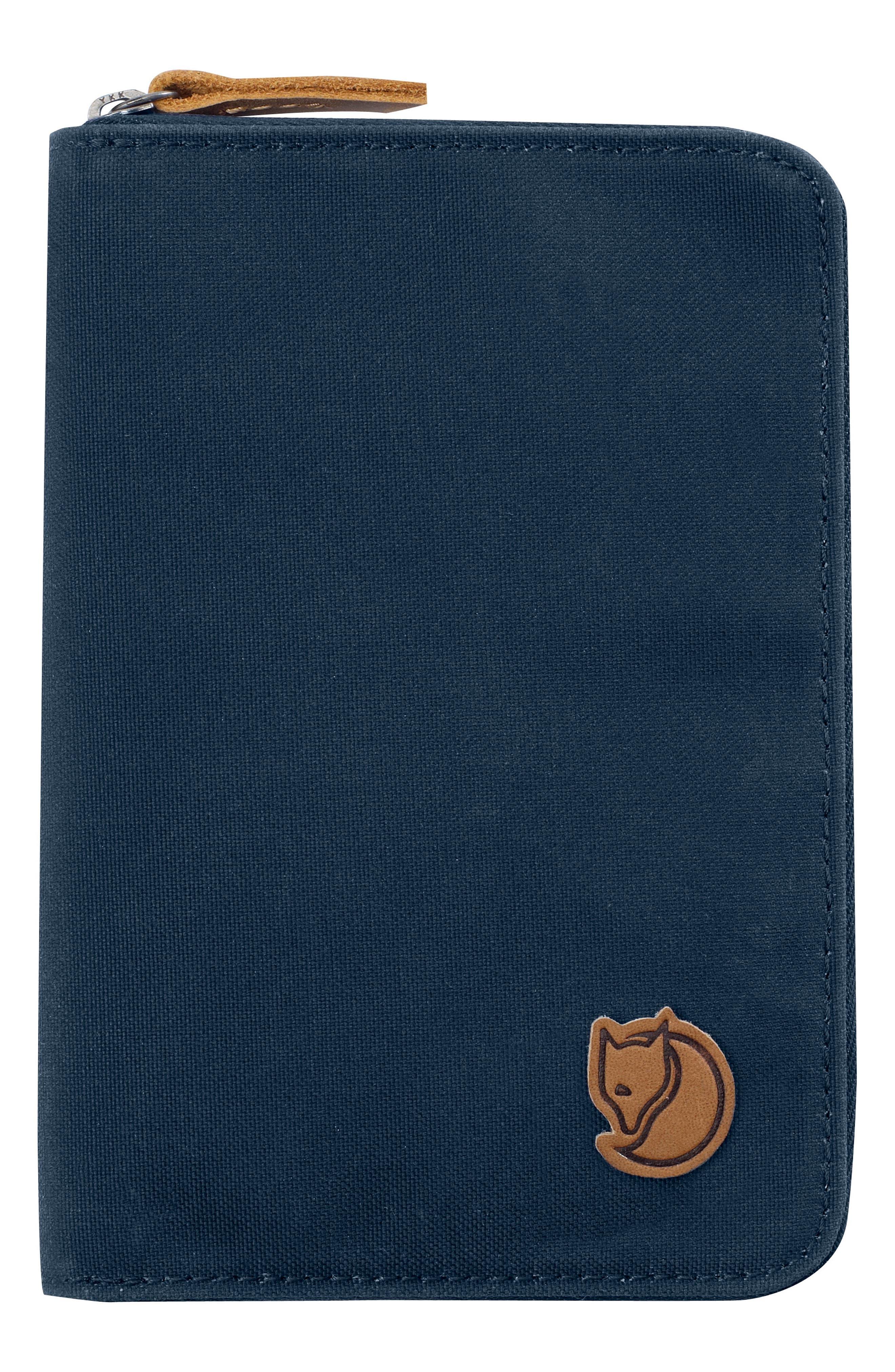 Canvas Passport Wallet