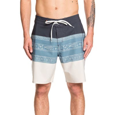 Quiksilver Liberty Board Shorts, Grey