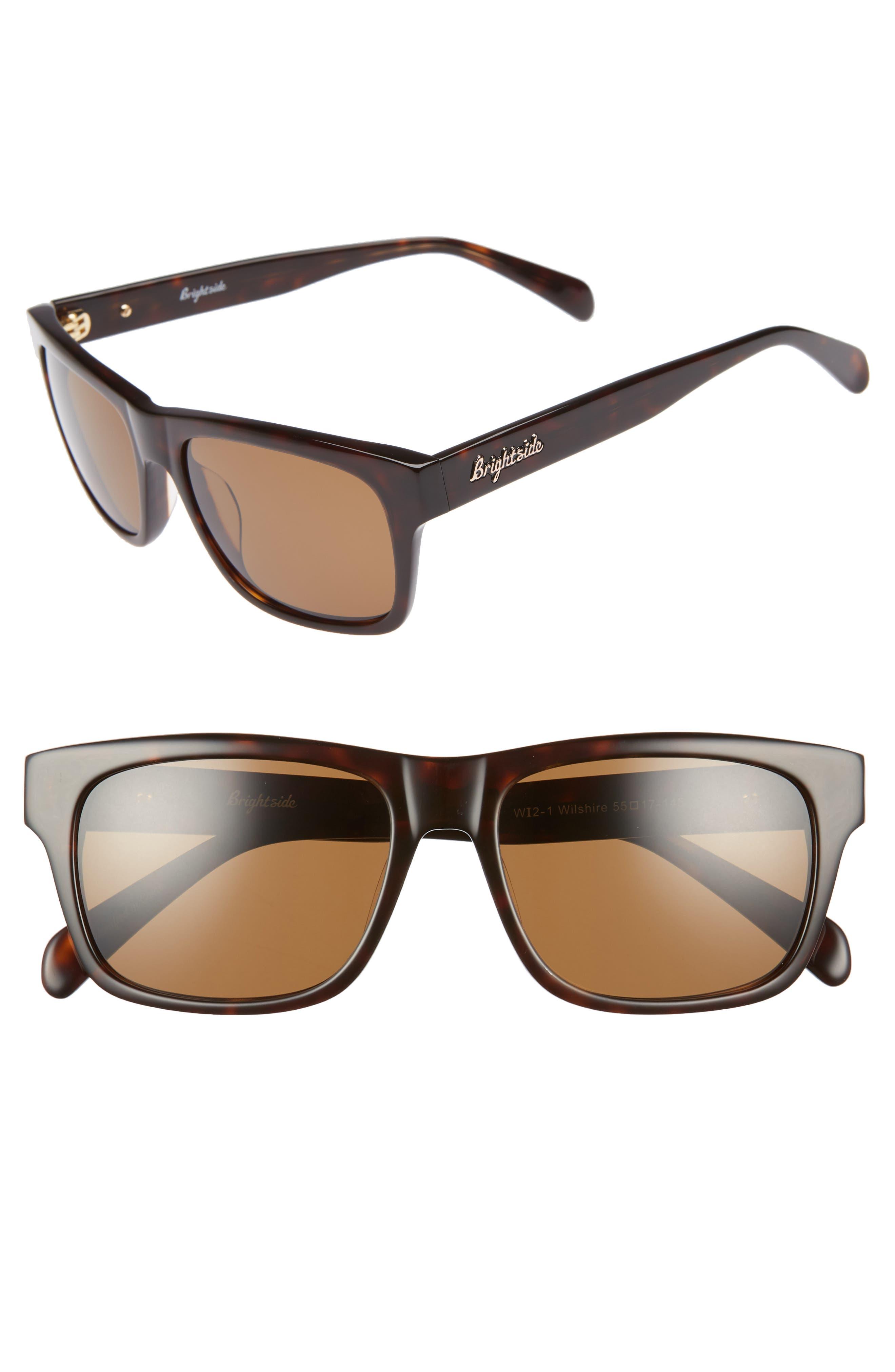 Wilshire 55mm Square Sunglasses