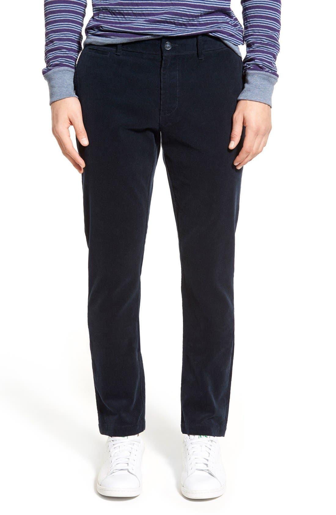 Original Penguin Mens P55 Slim Corduroy 5 Pocket Pant