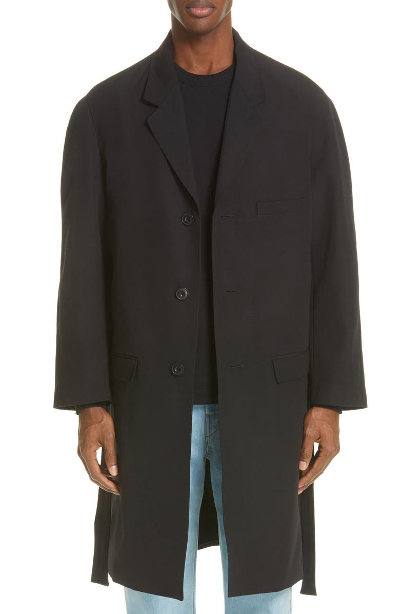 LEMAIRE Chesterfield Overcoat, Main, color, 001