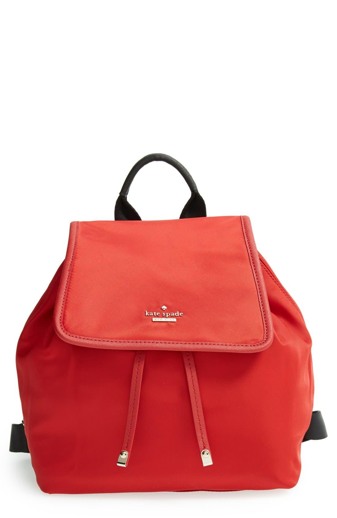 ,                             'molly' nylon backpack,                             Main thumbnail 9, color,                             648