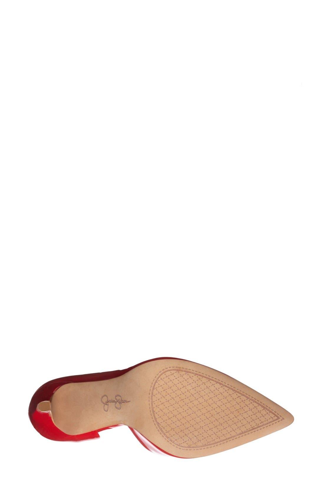 ,                             'Claudette' Half d'Orsay Pump,                             Alternate thumbnail 216, color,                             600
