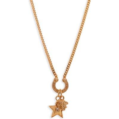 Versace Rodeo Queen Pendant Necklace