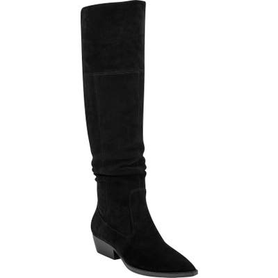 Marc Fisher Ltd Oshi Over The Knee Boot, Black