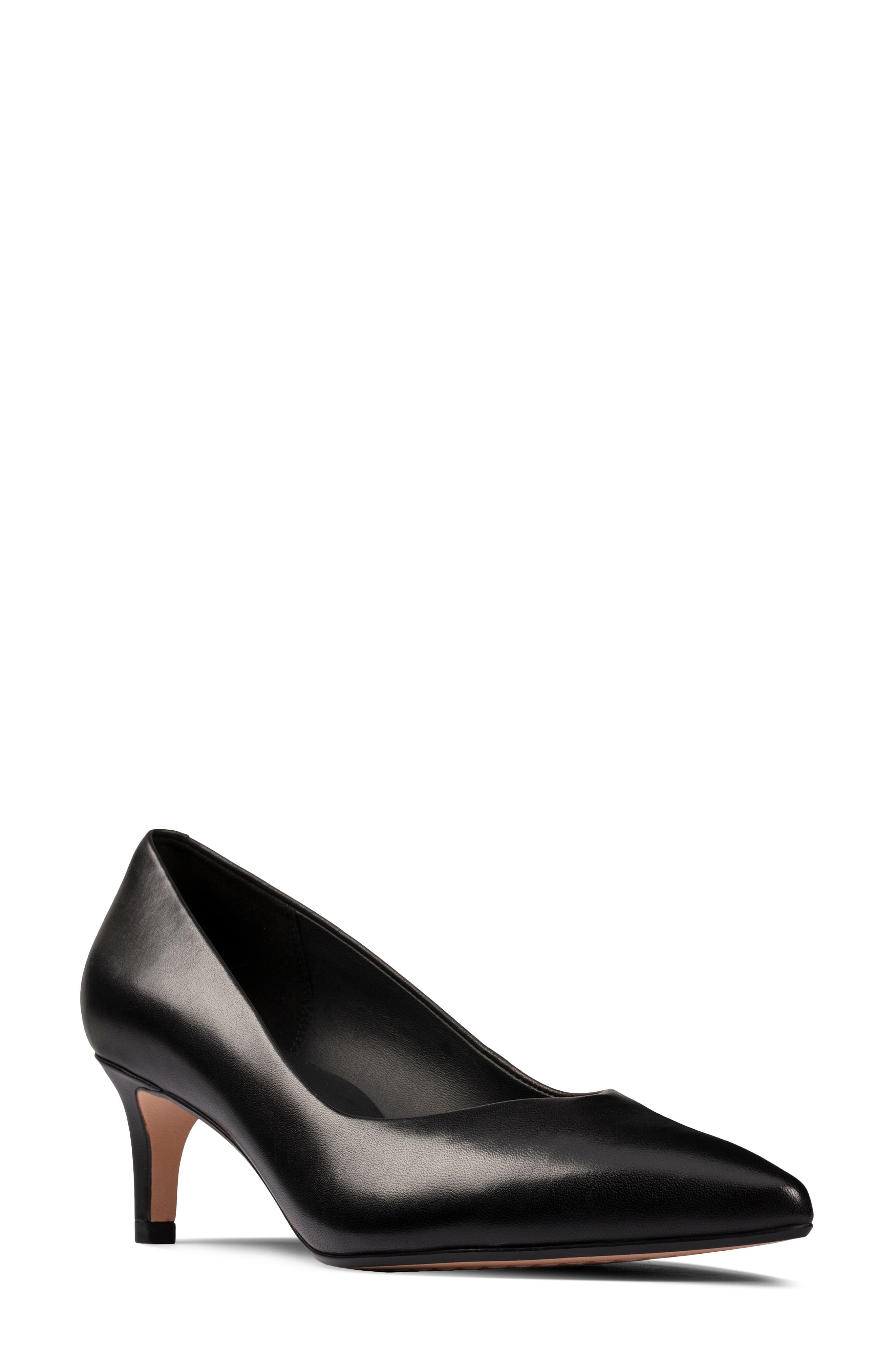 Women's Clarks Laina55 Court 2 Pointed Toe Pump