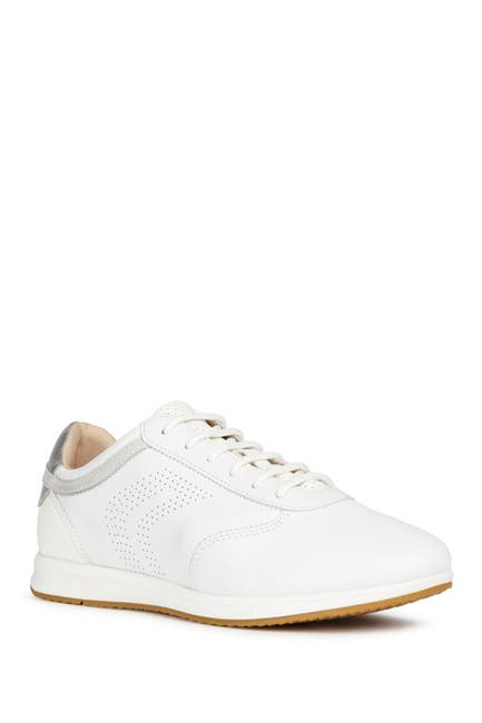 Image of GEOX Wavery Leather Sneaker