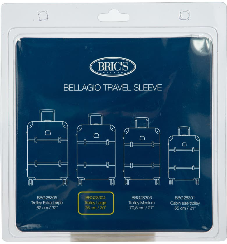 BRIC'S Transparent Custom Cover for 30-Inch Bellagio Spinner Trunks, Main, color, 100