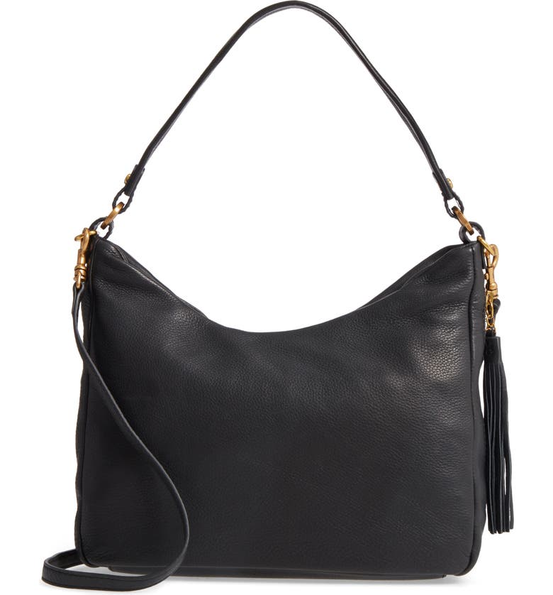 8ce38ef55 Delilah Convertible Calfskin Leather Hobo Bag, Main, color, 001
