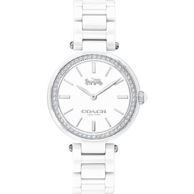 Coach Park Ceramic Bracelet Watch, 30Mm