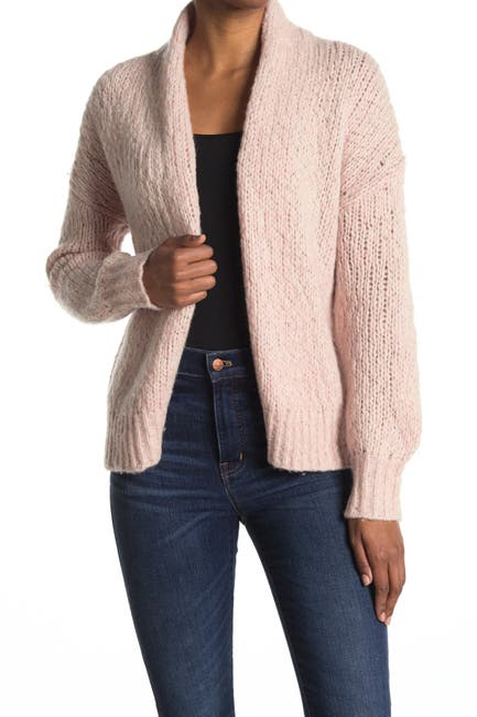 Image of 360 Cashmere Harmonee Open Front Cardigan