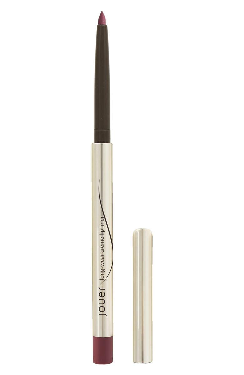 JOUER Long-Wear Crème Lip Liner, Main, color, ROSEWOOD