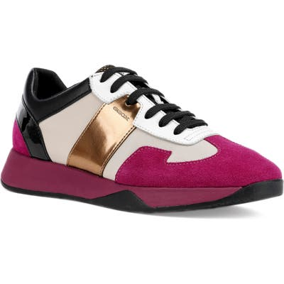 Geox Suzzie Sneaker, White