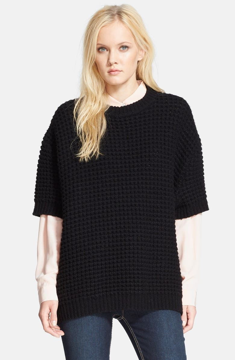 MARC BY MARC JACOBS 'Walley' Smock Sweater, Main, color, 001
