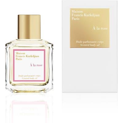 Maison Francis Kurkdjian Paris A La Rose Scented Body Oil