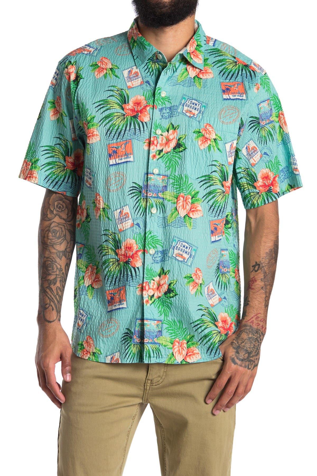 Image of Tommy Bahama Aloha From Paradise Short Sleeve Shirt