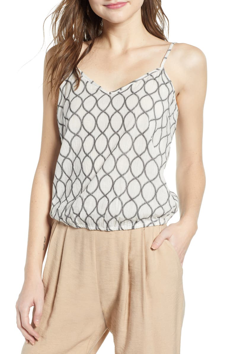 THE ODELLS Bubble Camisole, Main, color, 112