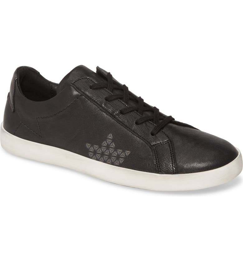 CLOUD Victory Sneaker, Main, color, BLACK LEATHER