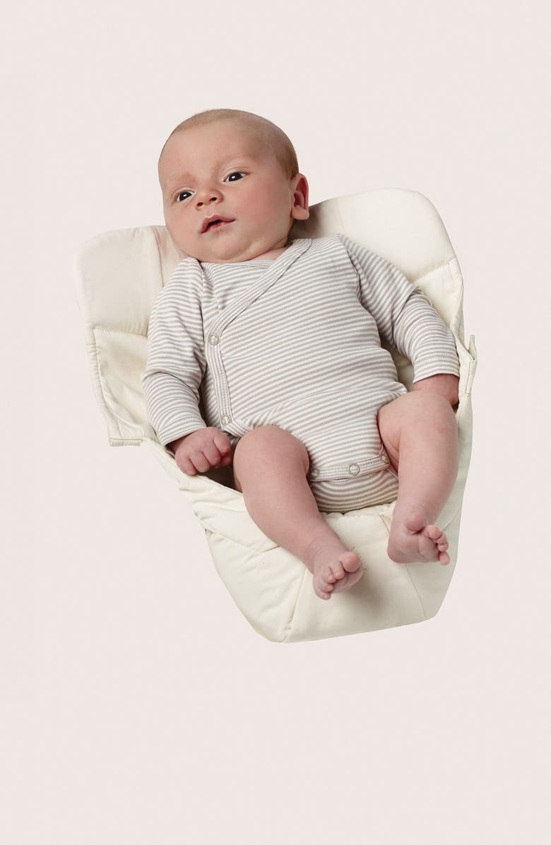ERGOBABY 'Easy Snug' Cotton Poplin Baby Insert, Main, color, NATURAL