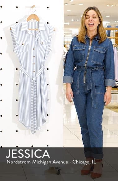 Stripe Shirtdress, sales video thumbnail