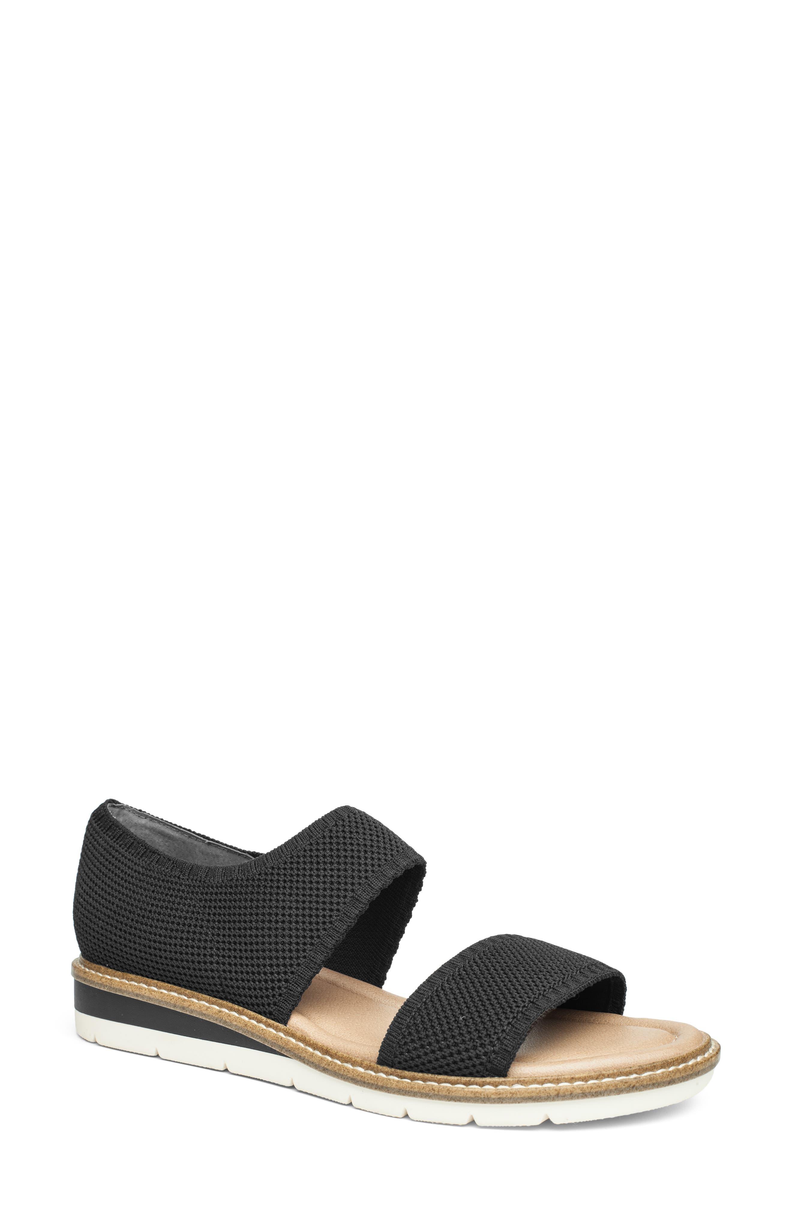 Amity Wedge Knit Sandal