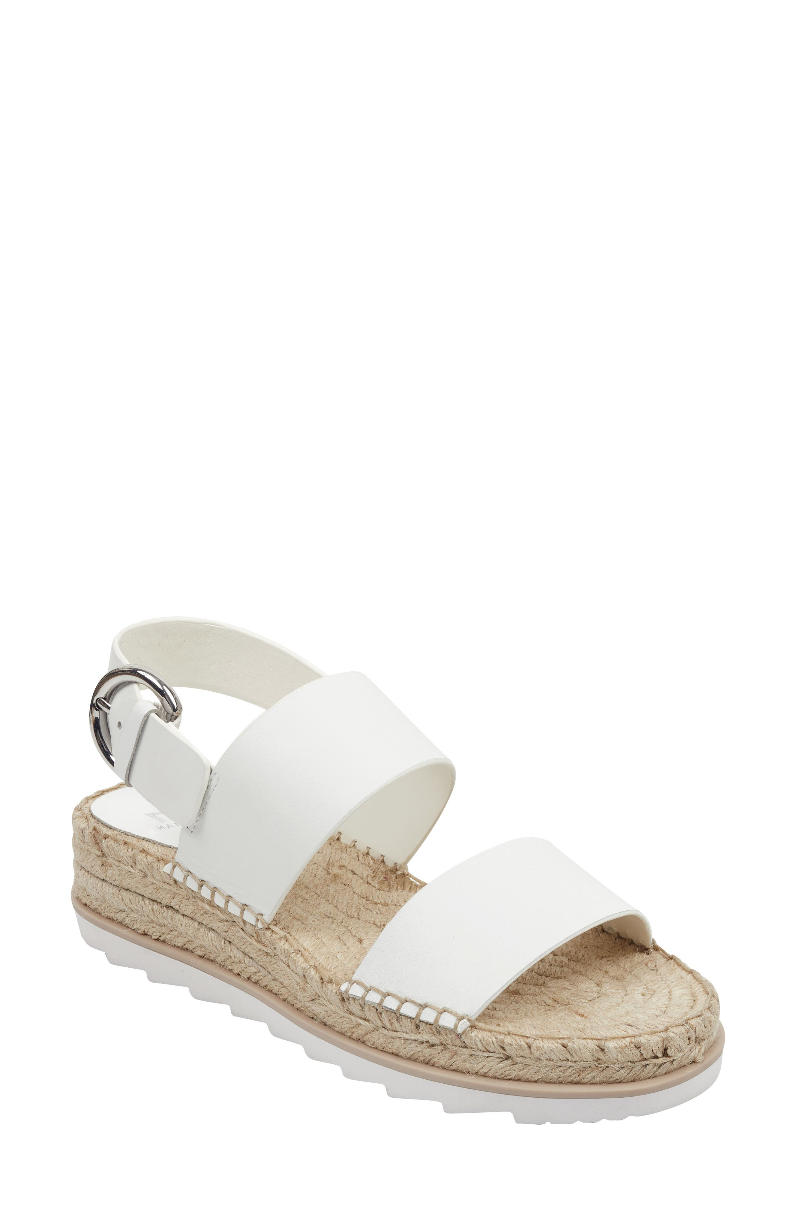 Marc Fisher Ltd Phebe 2 Espadrille Sandal- White