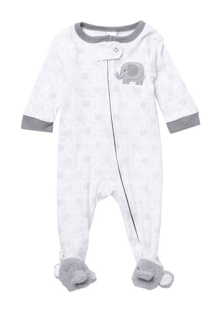 Image of Baby Kiss Elephant Footie