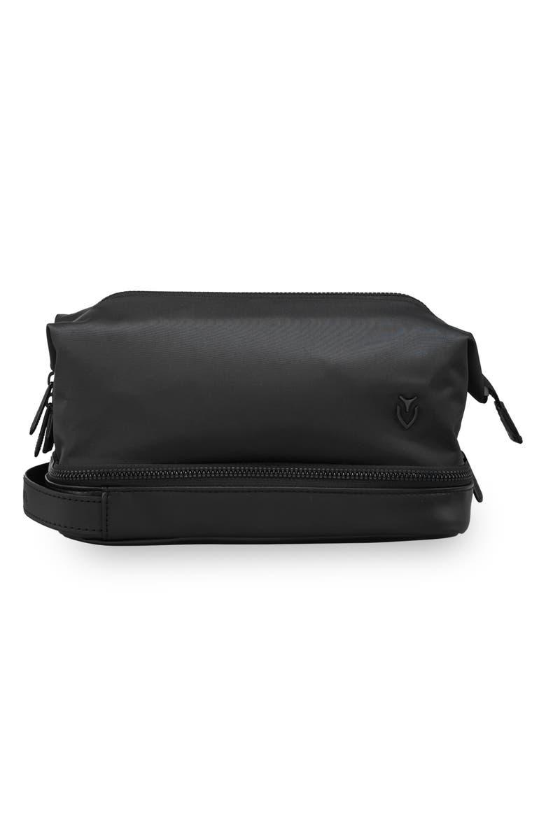VESSEL Skyline Dopp Kit, Main, color, BLACK