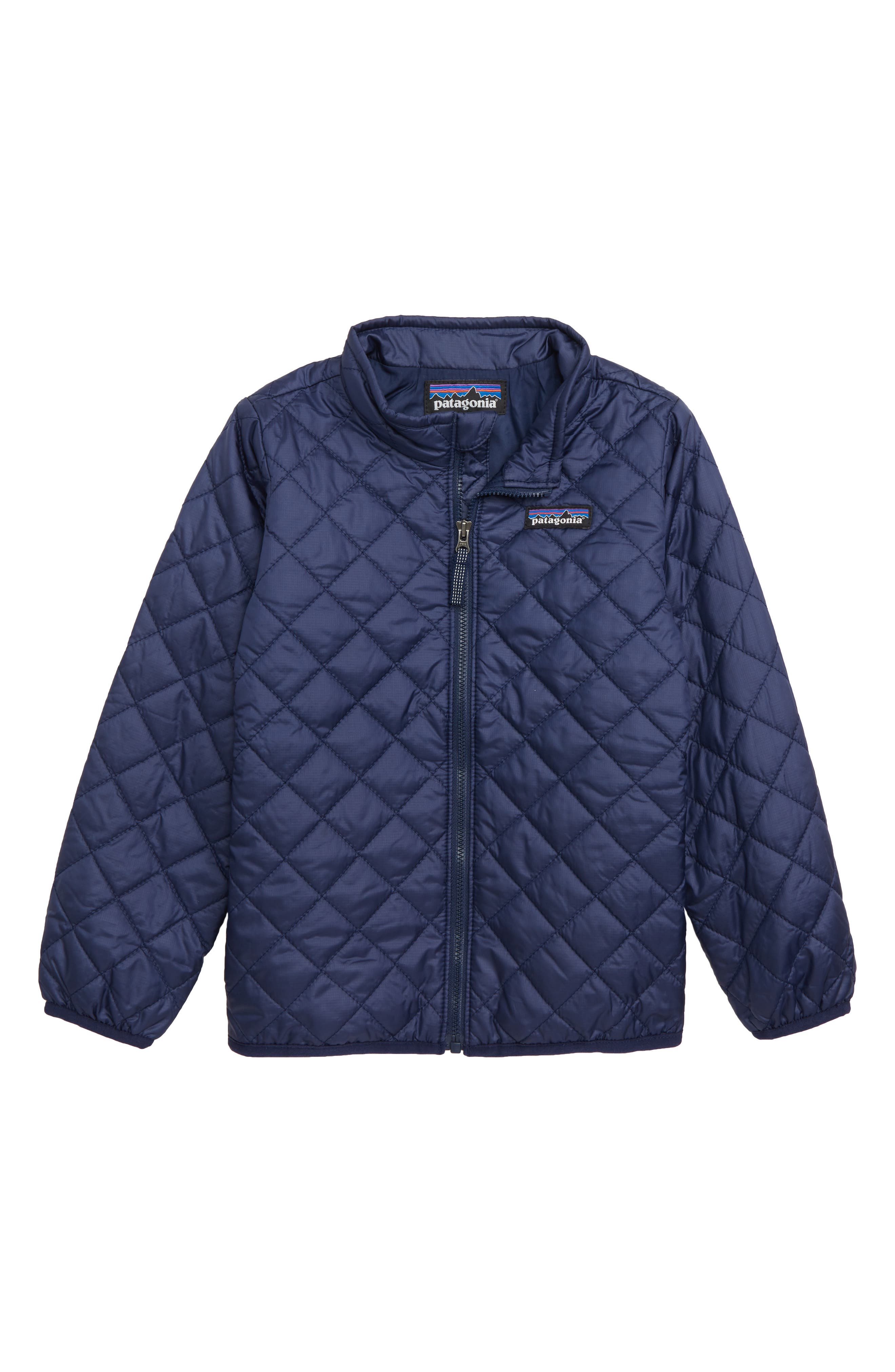 Toddler Boys Patagonia Nano Puff Quilted Water Resistant Jacket Size 5T  Blue